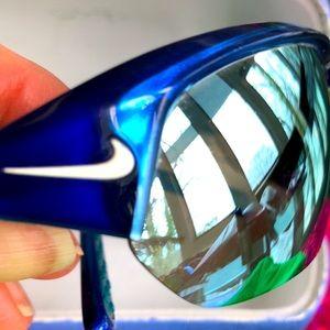Nike Max Optics Blue Sporty cycling Sunglasses